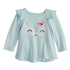 Baby Girl Jumping Beans® Ruffle Swing Top