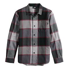 Boys 8-20 Vans Jinxed Button-Down Shirt
