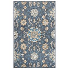 Rizzy Home Ariana Resonant Collection Floral Rug