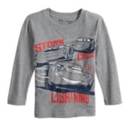 Disney / Pixar Cars 3 Toddler Boy Lightning McQueen, Cruz & Jackson Storm Softest Tee by Jumping Beans®