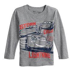 Disney / Pixar Cars 3 Toddler Boy Lightning McQueen, Cruz & Jackson Storm Softest Tee by Jumping Beans®