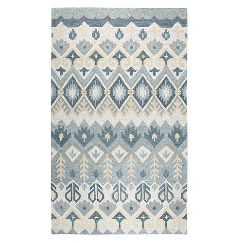 Rizzy Home Anna Resonant Collection Geometric Rug