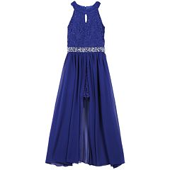 Girls 7-16 & Plus Size Speechless Sleeveless Walkthrough Maxi Dress