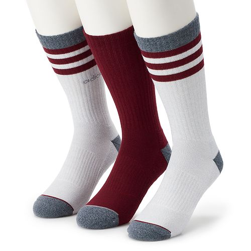 Men's adidas 3-pack Core Climalite Crew Socks
