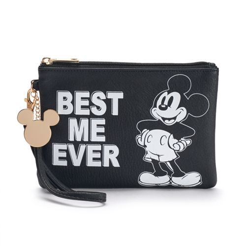 """Disney's Mickey Mouse """"Best Me Ever"""" Wristlet"""