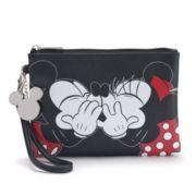 Disney's Mickey & Minnie Mouse Wristlet