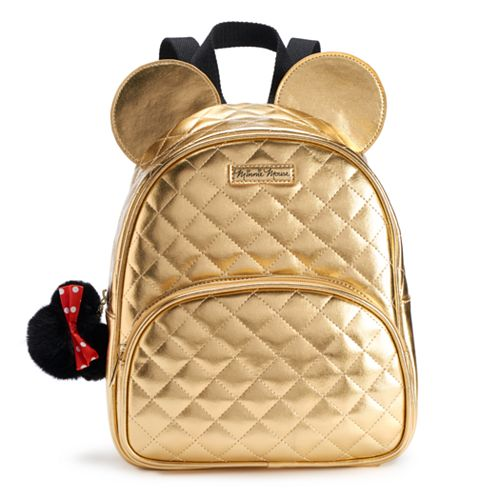 0fddd2eeb6af Disney s Minnie Mouse 3-D Quilted Mini Backpack