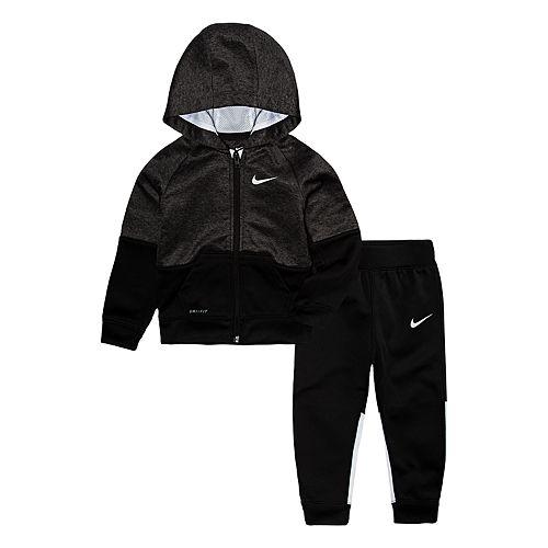 Toddler Boy Nike 2-Piece Speckle Hoodie & Pants Set