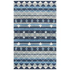 Rizzy Home Adeline Resonant Collection Geometric Rug