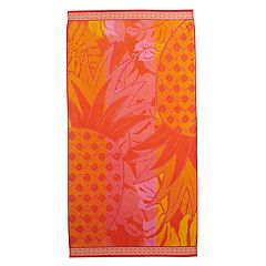 Celebrate Summer Together Pineapple Turkish Cotton Beach Towel