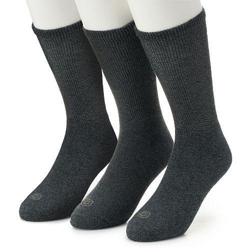 Men's Work IQ 3-pack Cushioned Crew Socks