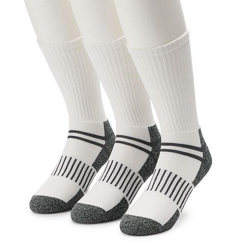 Men's Work IQ 3-pack Half-Cushioned Crew Socks