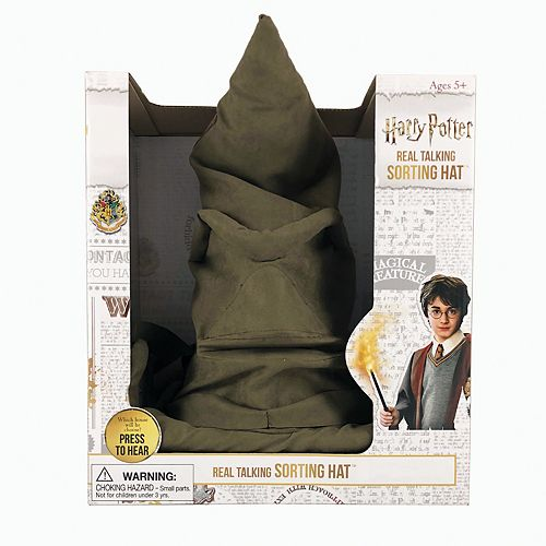WB Wizarding World Harry Potter Sorting Hat & Bonus Projector