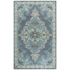 Rizzy Home Alice Resonant Collection Medallion Rug