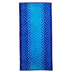 The One Blue Diamond Beach Towel