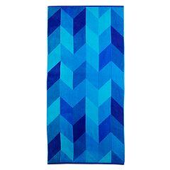 NEW! The Big One® Pink Chevron Beach Towel