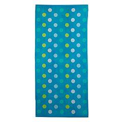 The Big One® Aqua Big Dot Beach Towel