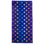 The Big One® Aqua Big Dot Beach Towel