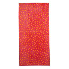The Big One® Black Scatter Dot Beach Towel