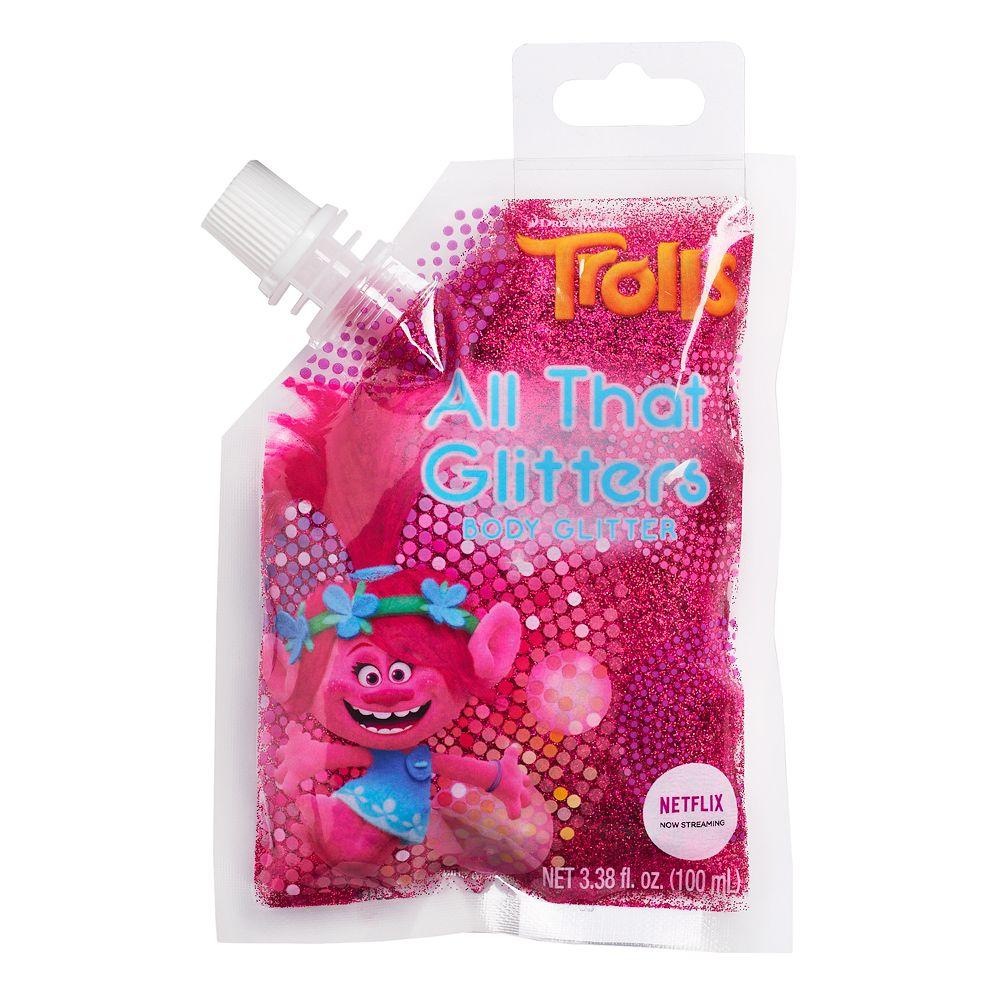 Girls DreamWorks Trolls Poppy Glitter