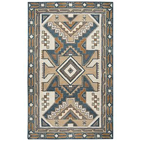 Rizzy Home Alexandra Southwest Collection Geometric Rug