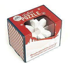 Festive Snowflake Puzzle by Professor Puzzle