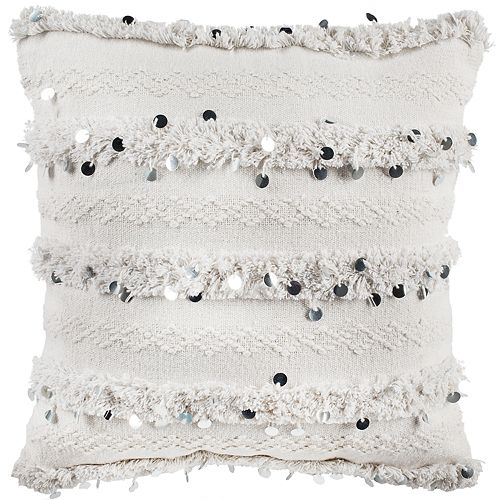 Safavieh Collette Textured Boho Throw Pillow