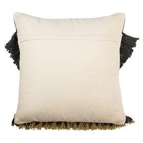 Safavieh Elettra Geometric Fringe Throw Pillow