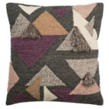 Safavieh Josep Geometric Fringe Throw Pillow