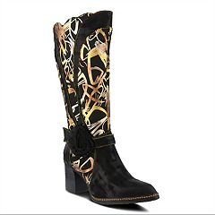 L'Artiste by Spring Step Savannah Women's Knee High Boots