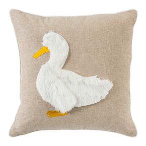 Safavieh Quackadilly Goose Throw Pillow