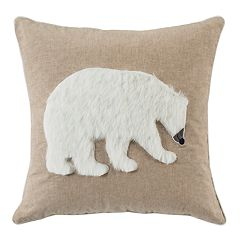 Safavieh Cubsy Polar Bear Throw Pillow