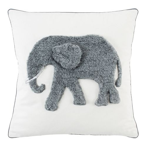 Safavieh Snuffles Elephant Throw Pillow