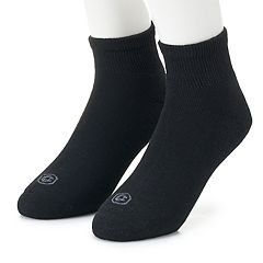 Men's Doctor's Choice 2-pack Cushioned Quarter Socks