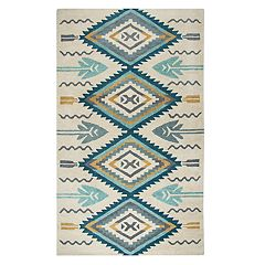 Rizzy Home Athena Southwest Collection Arrow Rug