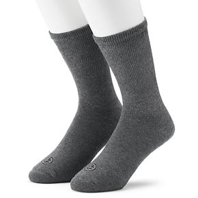 Men's Doctor's Choice 2-pack Cushioned Crew Socks