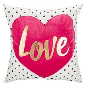 "Safavieh ""Love"" Heart Throw Pillow"
