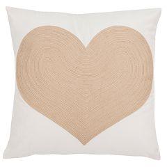 Safavieh Heart Throw Pillow