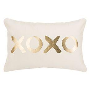 """Safavieh """"XOXO"""" Throw Pillow"""
