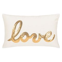 Safavieh Sequin 'Love' Throw Pillow