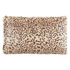 Safavieh Zuma Faux Cheetah Print Oblong Throw Pillow