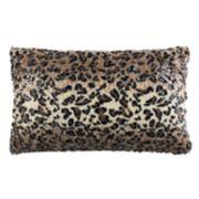 Safavieh Zahara Faux Cheetah Print Oblong Throw Pillow