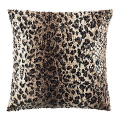 Safavieh Zahara Faux Cheetah Print Throw Pillow