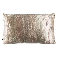Safavieh Lola Silver Shimmer Throw Pillow