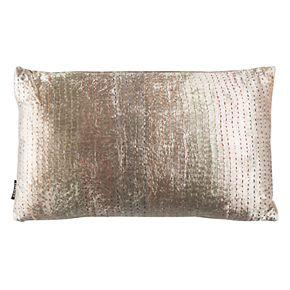 Safavieh Lola Silver Shimmer Throw Pillow