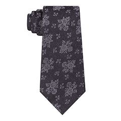 Men's Croft & Barrow® Floral Skinny Tie