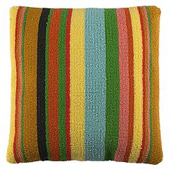 Safavieh Striped Indoor Outdoor Throw Pillow