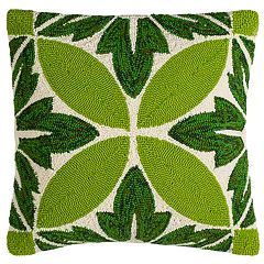 Safavieh Palm Leaf Indoor Outdoor Throw Pillow