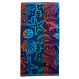 Celebrate Summer Together Shell Turkish Cotton Beach Towel