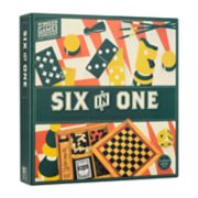 Six in One Wooden Games by Professor Puzzle